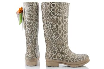 Kalosze Crocs Wellie Leopard