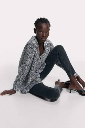 Bluzka Zara Animal Print
