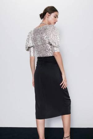 Bluzka Zara Top Sequin