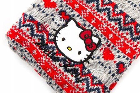 Czapka i szalik SANRIO Hello Kitty