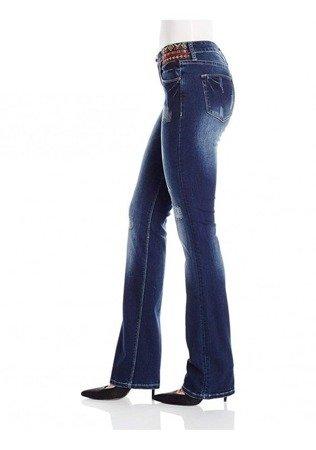 Spodnie Desigual Denim Nai