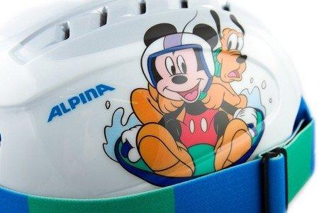 Zestaw Kask Gogle Alpina Carat Disney Set